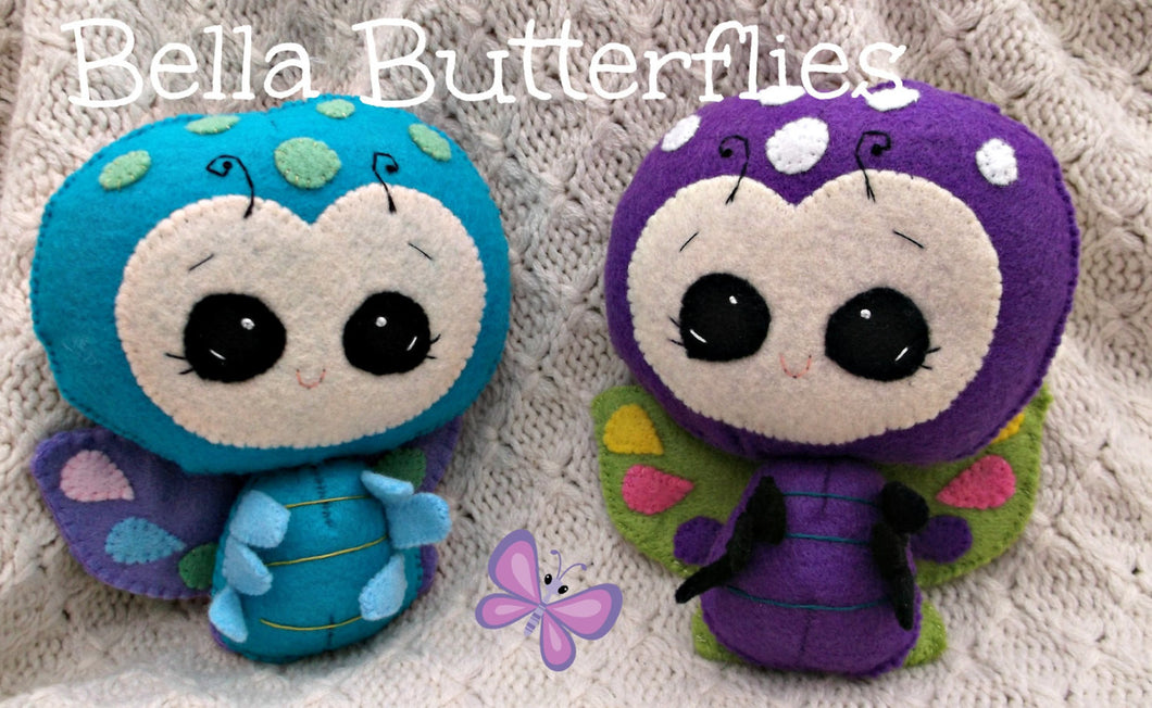Beautiful Bella Butterfly - Harveyshouse handmade craft