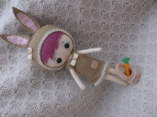 Bunny Felt Doll - Harveyshouse handmade crafts