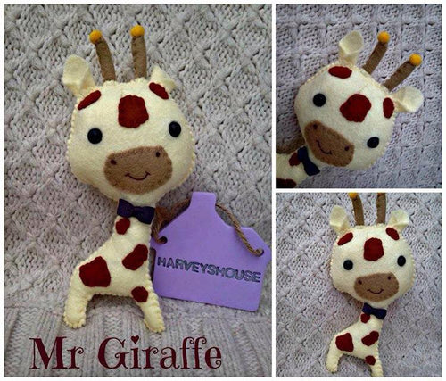 Mr Giraffe - Harveyshouse handmade crafts