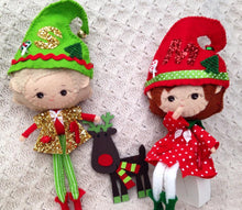 Christmas Elf  Doll - Harveyshouse