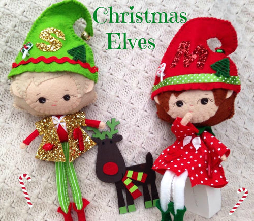 Custom Made Elf Collectable Doll - Harveyshouse handmade crafts