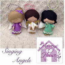 Singing Angel Tree Decorations - Harveyshouse