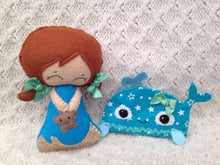 Sea Themed Collectable Doll- Harveyshouse handmade crafts