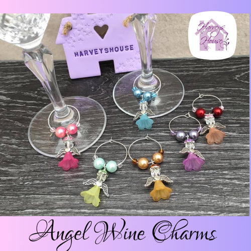Angel Wine Charm Sets