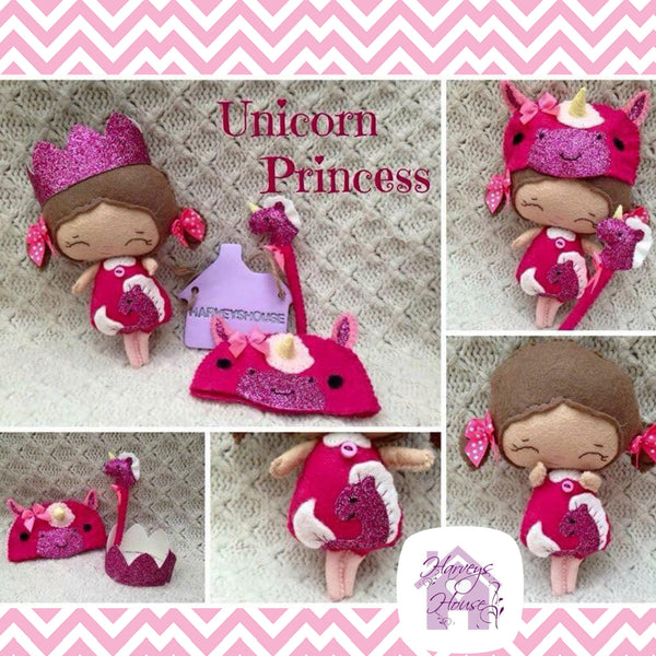 Baby Unicorn Princess Doll