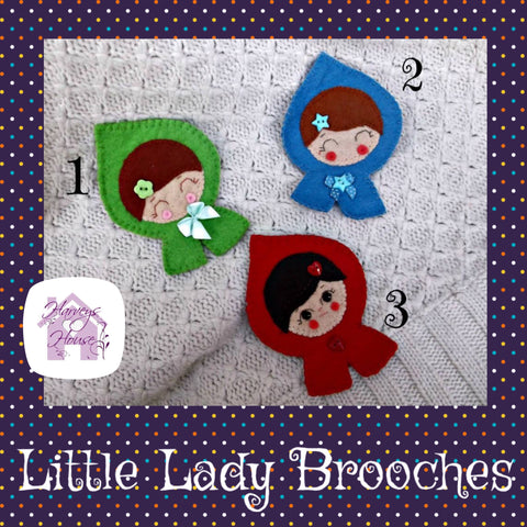 Little Lady Brooches