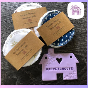 Round Makeup Remover Pads - Harveyshouse