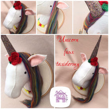 Faux Taxidermy Unicorn Head - Harveyshouse