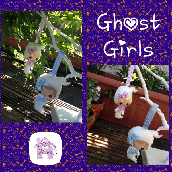 Ghost Girl Decorations