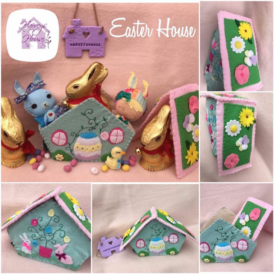 Easter House Decoration -HarveysHouseCrafts