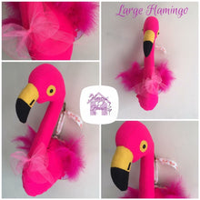 Large Flamingo Trophy Head - Harveyshouse