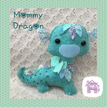 Mommy and Baby Dragon