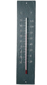 Slate Garden Thermometer