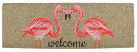 FLAMINGO COIR WELCOME DOORMAT