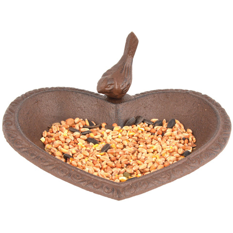 Bird Feeder/Bath Heart Shaped