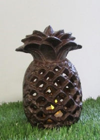 Pineapple Lantern Cast Iron
