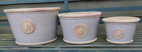 Royal Botanical Gardens Kew Ceramic Low Pots/bowls