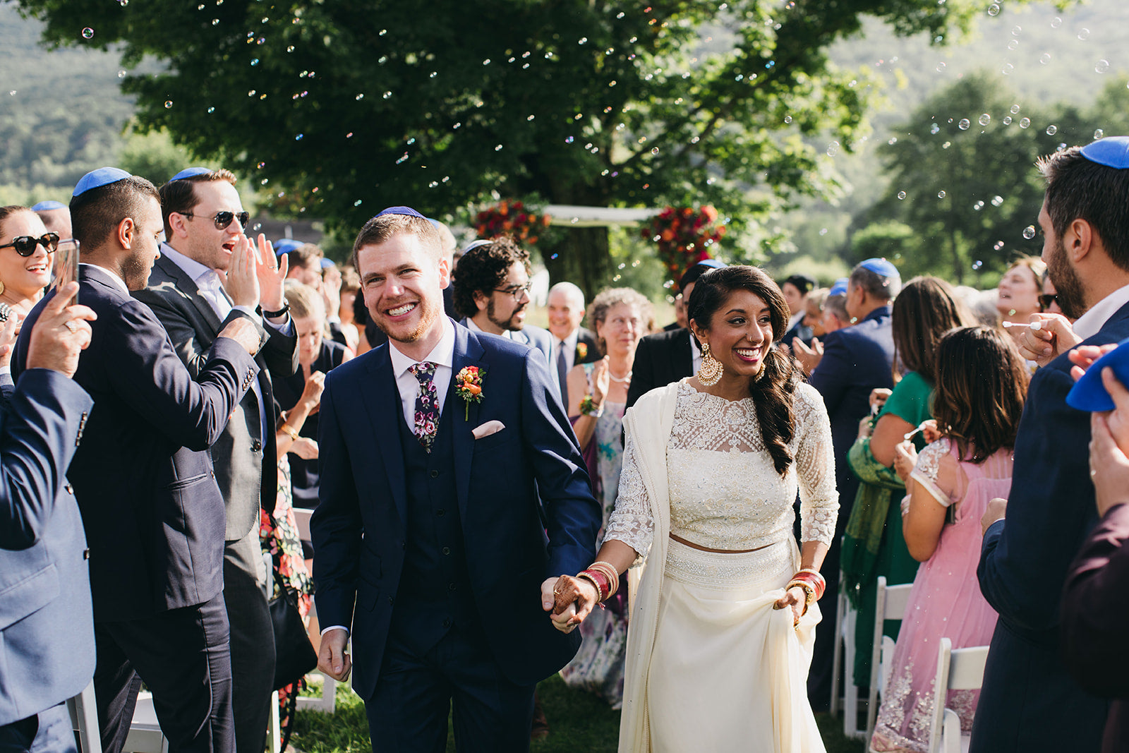 KYNAH BRIDE | Press Feature in The CUT A Sikh-Jewish Wedding That Ended in Fireworks