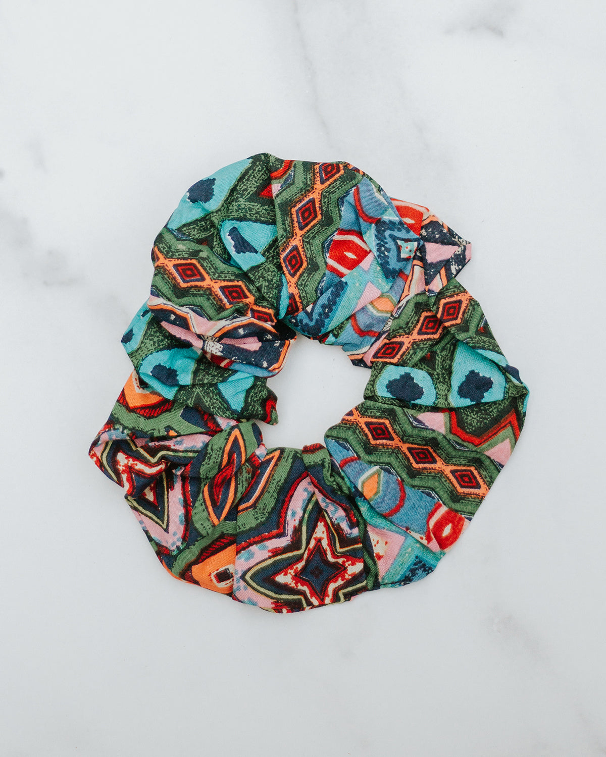 Colors of India Scrunchie