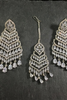 Cascading Tikka & Earrings Set