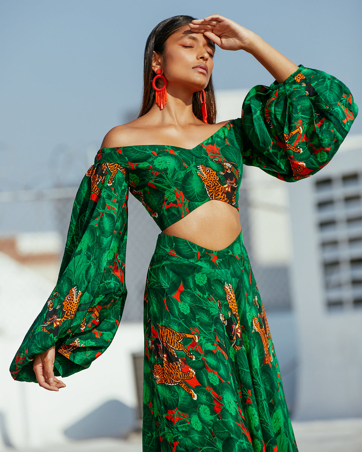 Jungle Lehenga