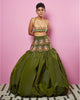 Military Green Lehenga | Papa Don't Preach