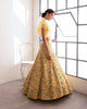 Yellow Gulnar Lehenga | Ready to Ship