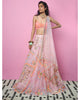 Pink and Orange Tulle Lehenga | Papa Don't Preach