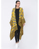 Yellow Blooming Cow Asymmetrical Short Jacket