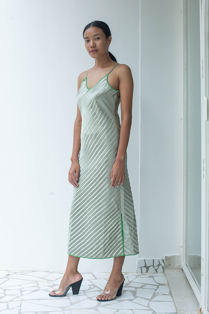 Hayat Pleated Dress