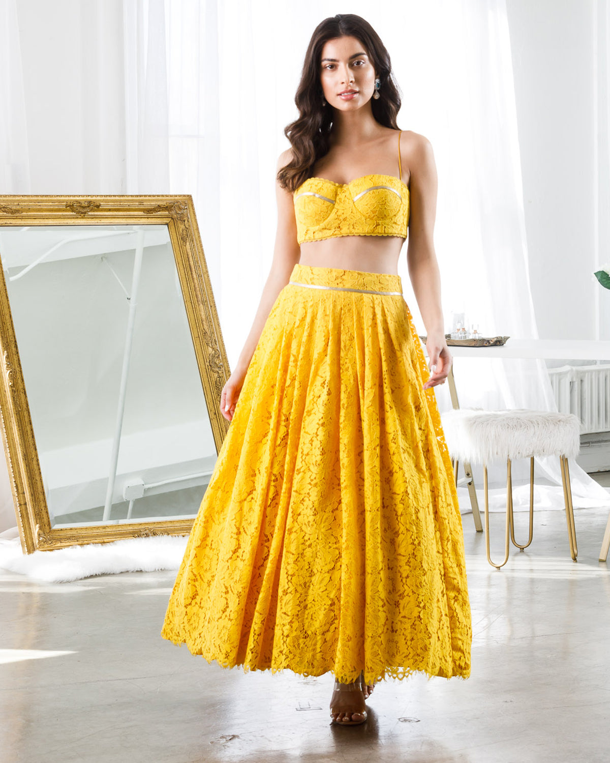 Ginger Midi Lehenga | Ready to Ship