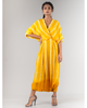 Yellow Almond Shibori Jumpsuit