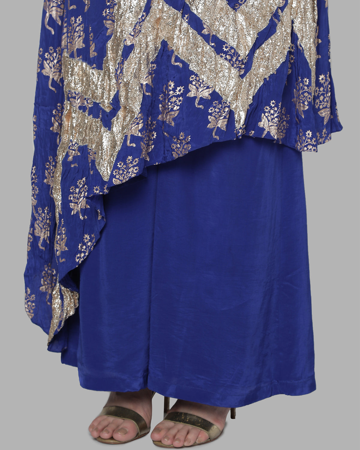 Blue Star Flower Gota Tunic