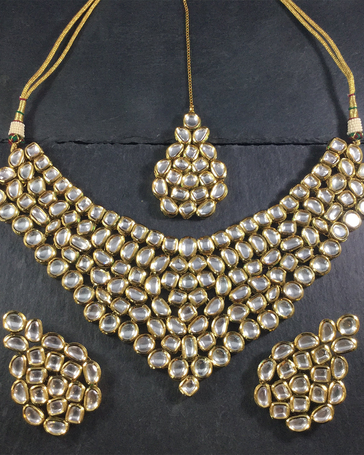 Clarity Kundan Jewelry Set