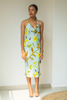 Flower and Branch Mint Green Dress | KYNAH x Guapa Resortwear