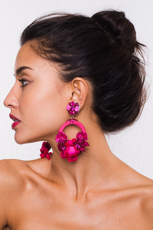 Posie Pink Earrings