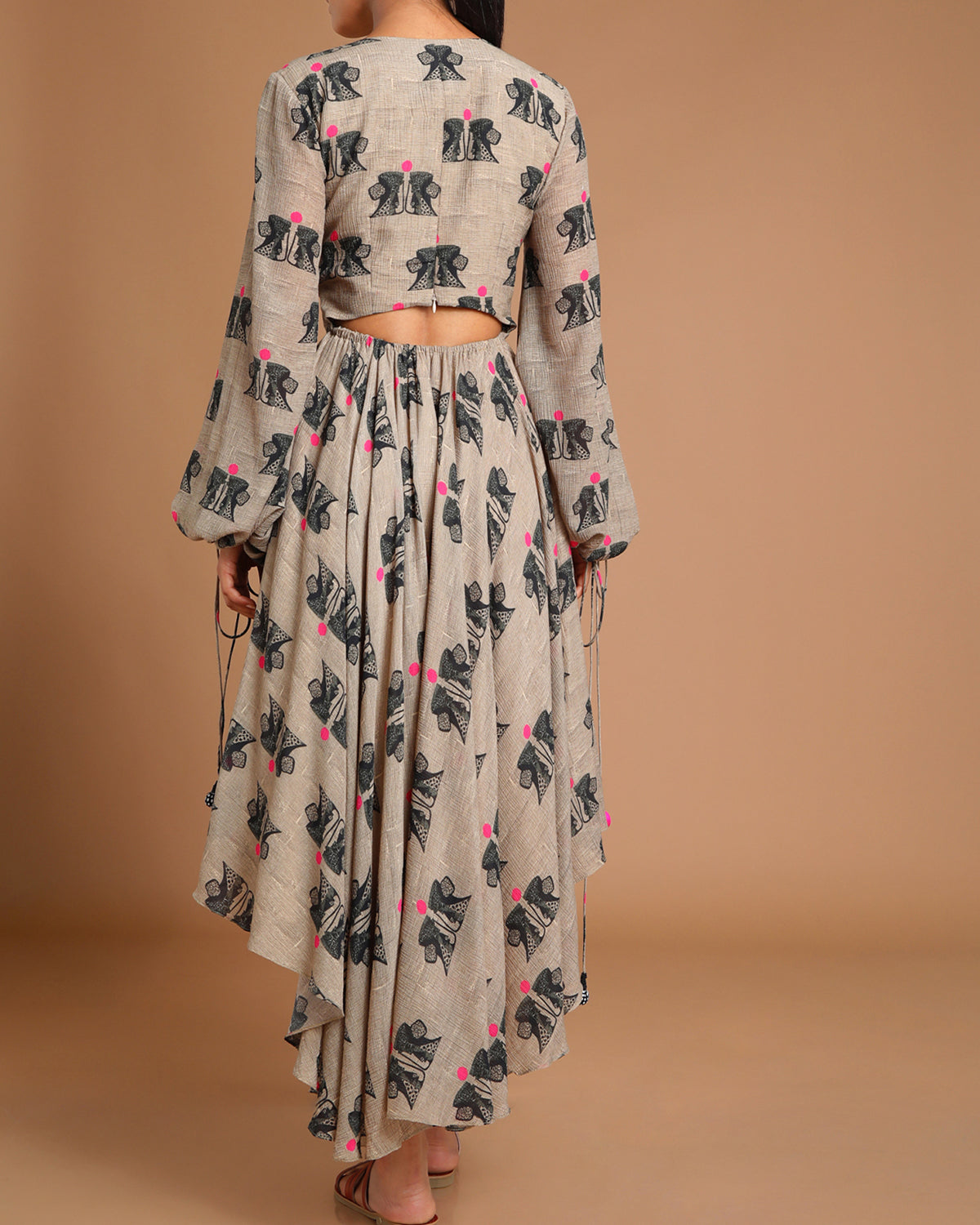 House of Masaba gray dress