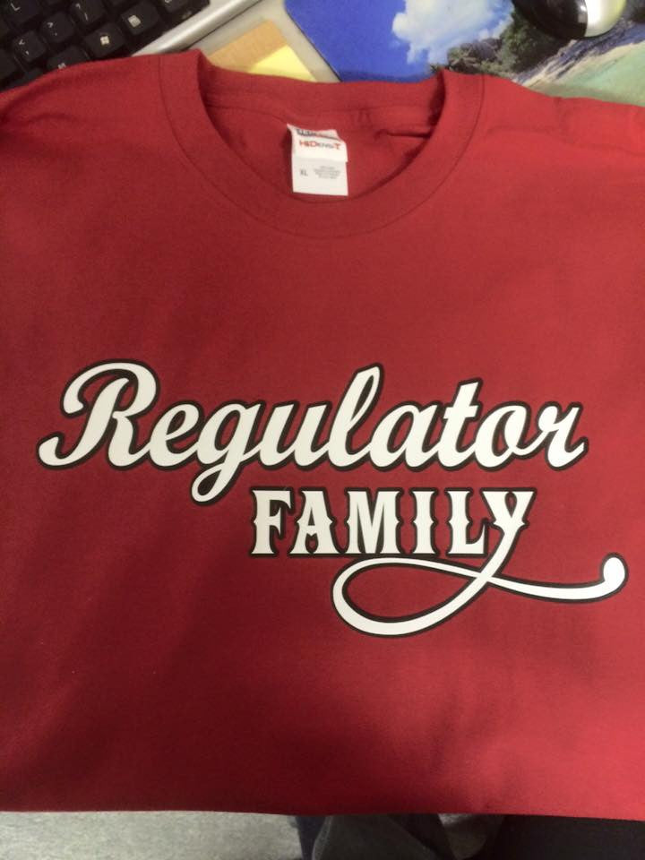 Red Regulator Family T Shirt