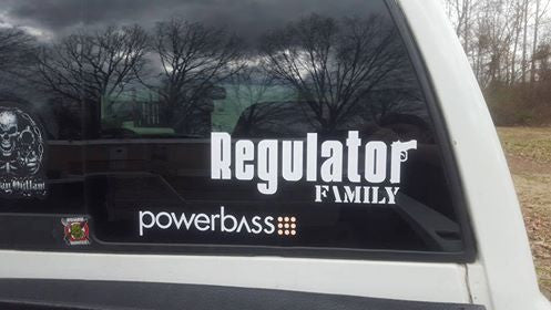 Regulator Family & Mini Thin Decal Package