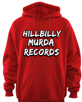 Red Hillbilly Murda Records Classic Hoodie