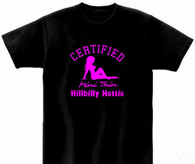 Mini Thin Hillbilly Hottie T Shirt
