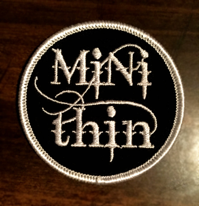 Mini Thin Embroidered Patches 2.5 x 2.5