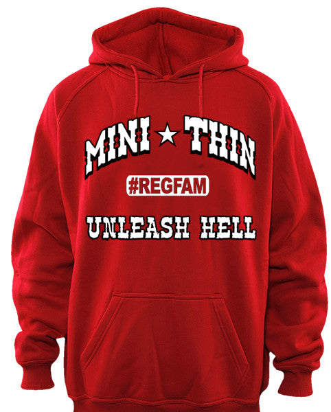 Unleash Hell Regulator Family Hoodie