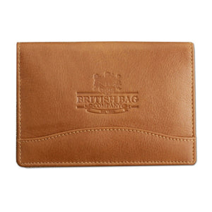 British Bag Company Leather Passport Cover - Maxwell Hamilton