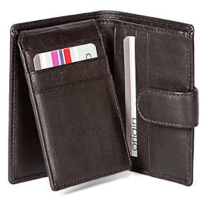 Origin Credit Card Holder With Tab & RFID Protection 137-Origin-Maxwell Hamilton