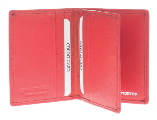 Golunski RFID Credit Card Holder 1-523 - Maxwell Hamilton