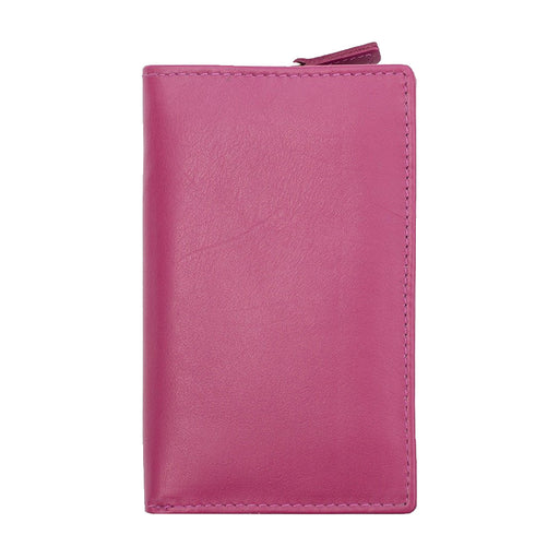 Multi Coloured Bi-Fold RFID Purse-Prime Hide-Maxwell Hamilton