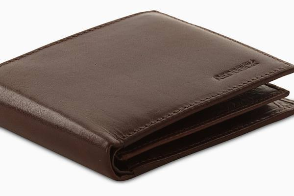 Redbrick Mens RFID Luxury Leather Brown Bifold Cards & Coins Wallet - RBWC0014 Brown-Redbrick-Maxwell Hamilton