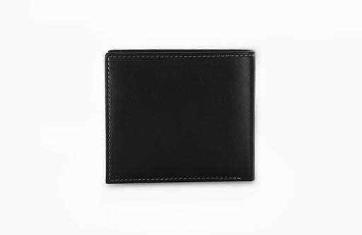 Redbrick Mens RFID LuxuryLeather Black Bifold Credit Cards & ID Wallet - RBWC0016 Black-Redbrick-Maxwell Hamilton
