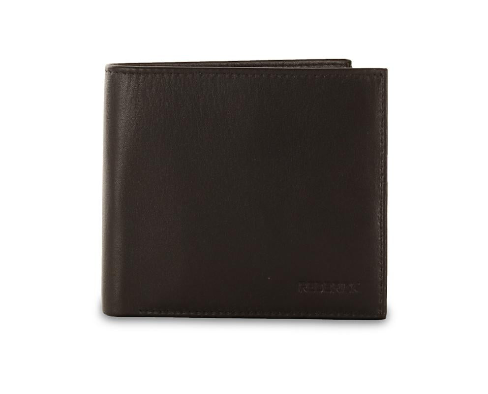 Redbrick Mens RFID Luxury Leather Black Bifold Multiple Cards Wallet - RBWC0019 Black-Redbrick-Maxwell Hamilton